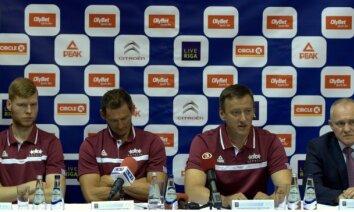 Basketbolistu apdrošināšanas nokārtošana un gatavošanās izšķirošiem mačiem – Latvija turpina ceļu pretī PK