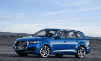 Pirmie attēli ar jauno 'Audi Q7' apvidnieku