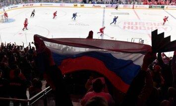 Krievijas hokeja izlase piedzīvo ceturto zaudējumu Vorobjova vadībā