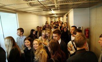Foto: Atklāts jaunuzceltais LU Dabaszinātņu akadēmiskais centrs Torņakalnā