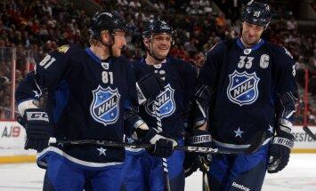 NHL Zvaigžņu spēlē uzvar Haras komanda