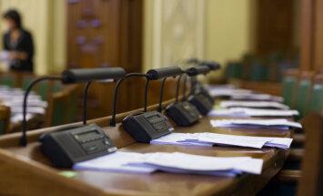 Saeimas deputātiem par decembri transporta un dzīvokļa kompensācijās izmaksāti 22 034 eiro