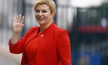 Horvātijas prezidente premjera amatam nominē konservatīvo līderi