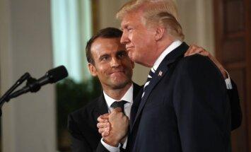 Francija un ASV strādās pie jaunas kodolvienošanās ar Irānu, atklāj Makrons