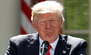 Tramps izsaka Putinam pateicību par ASV vēstniecības personāla izraidīšanu