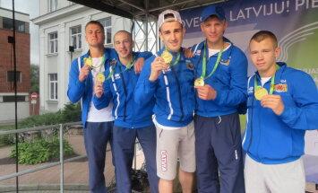 Команда Риги выиграла общий зачет Латвийской Олимпиады, а борцов проигнорировали
