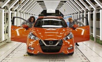 Francijā uzsākta jaunā 'Nissan Micra' modeļa ražošana