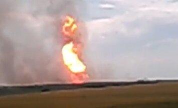 Gāzes cauruļvada uzspridzināšana Ukrainā ir Krievijas interesēs, uzskata Saakašvili
