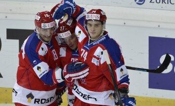 Fjodorova atgriešanās mačā CSKA hokejisti Špenglera kausā pārspēj Ročestras 'Americans'