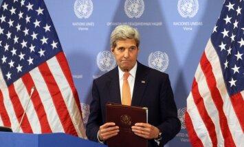 Kerijs: Sīrijas miera procesa sarunas sāksies plānotajā laikā