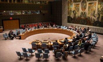 ANO Drošības padome otrdien balsos par sankcijām pret Sīriju
