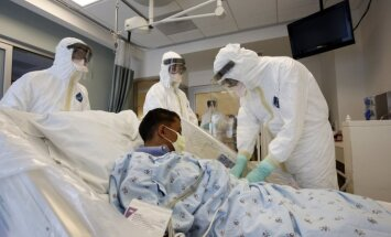 ASV piedāvā aizsardzību cilvēkiem no Ebolas vīrusa skartajām Rietumāfrikas valstīm