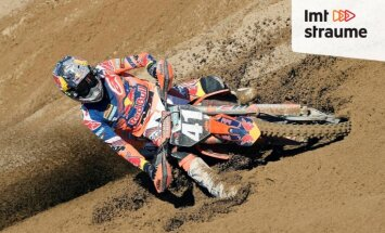 'ZeKurbulis' video: Jonass svin uzvaru, iznīcinot KTM motocikla motoru