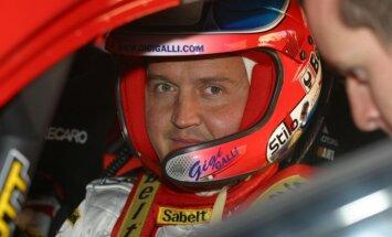'World RX' Latvijas posmā startēs arī atraktīvais itāļu rallija pilots Džidži Galli