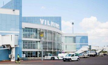 Реконструкция Вильнюсского аэропорта: первый самолет прибыл из Риги
