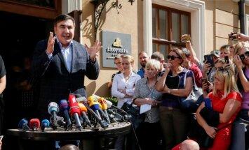 С чем и к кому опальный политик Саакашвили вернулся на Украину