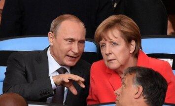 Немецкие СМИ: В Чехии даже Путин стал популярнее Меркель