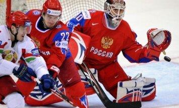 Krievijas izlases vārtus mačā pret Latviju sargās Brizgalovs