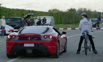 Video: Velosipēds, kas ir ātrāks par 'Ferrari'