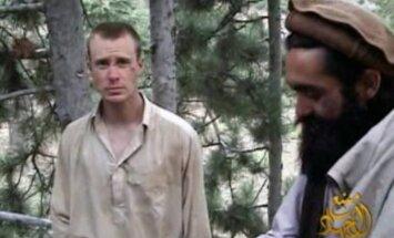 Atbrīvots piecus gadus 'Taliban' gūstā pavadījis ASV karavīrs