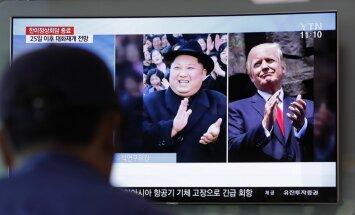 Tramps atceļ tikšanos ar Kimu Čenunu