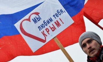 Krievija tiecas izvietot kodolieročus Krimā, pauž Porošenko