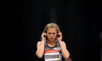 Russian whistleblower and runner Yulia Stepanova