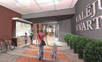 Foto: 'Baltic International Bank' investēs 12 miljonus eiro kvartāla atjaunošanā Vecrīgā