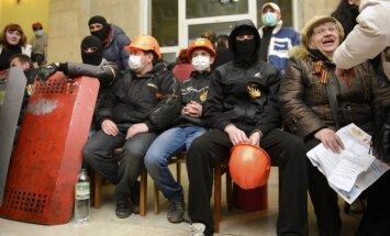 Harkovas apgabala administrācijas ēka pilnībā atbrīvota no separātistiem
