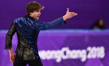 'Delfi' Phjončhanā: Vasiļjevs pēc olimpiskās debijas pārpildīts ar labām emocijām