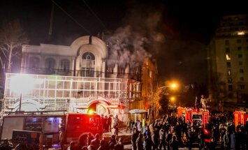 ANO Drošības padome nosoda iebrukumu Saūda Arābijas vēstniecībā Irānā