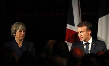 Francija un Lielbritānija paraksta jaunu robežas drošības līgumu
