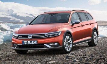 """ФОТО: Volkswagen показал """"вседорожный"""" универсал Passat"""