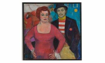 100 dārgumu mākslas muzejā: Birutas Baumanes 'Lilioms'