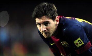 Mesi gūst vārtus jau 19.spēlē pēc kārtas; 'Barcelona' vienība cīnās neizšķirti