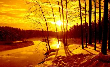 Kā desmit Latvijas garākās upes izskatās fotogrāfijās