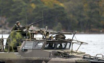Zviedrija un Somija izstrādā kopīgu aizsardzības plānu