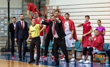 'Jēkabpils' basketbolisti LBL spēlē pārliecinoši uzvar pastarīti LU