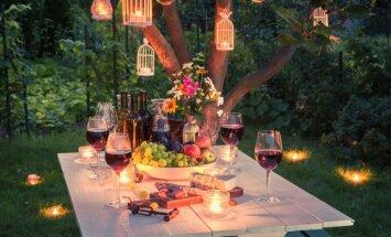 Vasarīga ballīte dārzā: ieteikumi skaistam vakaram ar draugiem