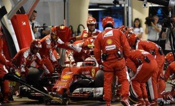 'Ferrari' F-1 komanda saņems vislielāko prēmiju par 2015. gadu