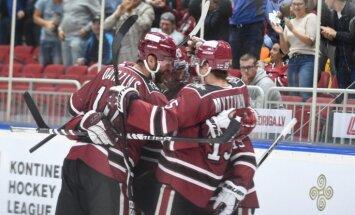 Video: Mitinena vārti pret Maskavas 'Dinamo' iekļauti KHL nedēļas TOP 10