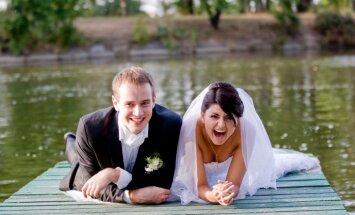 Жители Латвии не спешат жениться; каждый второй брак распадается