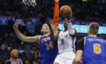 Jaunā NBA sezona : Porziņģim pirmais mačs pret 'Thunder', Bertānam - pret 'Timberwolves'