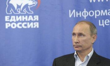 Putins: vairākums parlamentā ļaus mierīgi strādāt