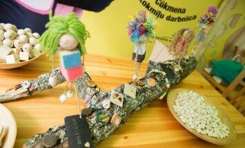 Mazos un lielos aicina uz bezmaksas koka rotaļlietu darbnīcu Lucavsalā