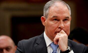 Skots Pruits atstāj ASV Vides aizsardzības aģentūras vadītāja amatu