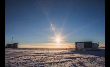 ВИДЕО: Солнечный день на Южном полюсе
