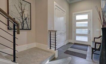 Pirmie soļi mājoklī – dizaineres ierosinājumi paklāja izvēlei priekšnamā