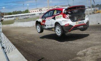 'Neste World RX of Latvia' kvalifikācijā Nitišam konkurentos Lēbs, Baumanim - Kens Bloks