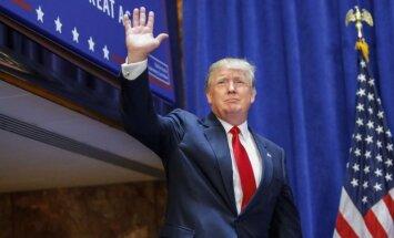 Donalds Tramps paziņo par kandidēšanu uz Balto namu